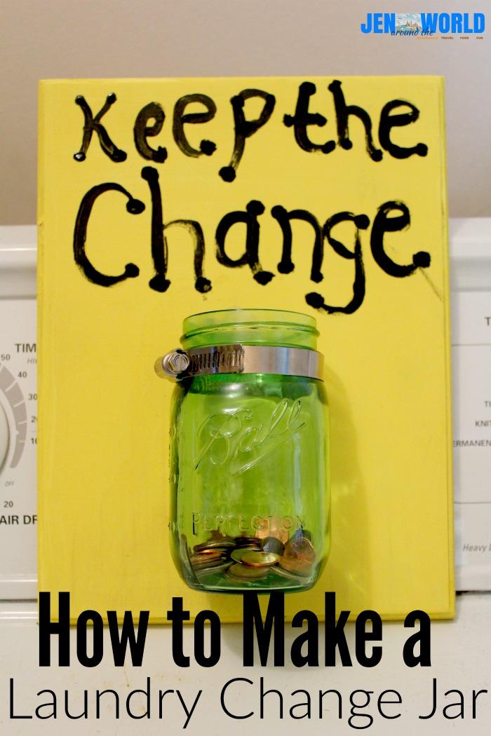 make a laundry change jar