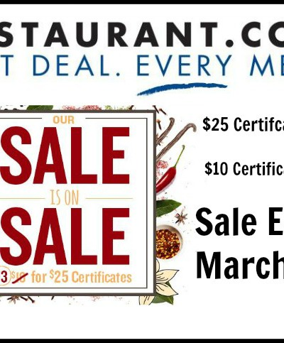 $3 Sale from Restaurant.com