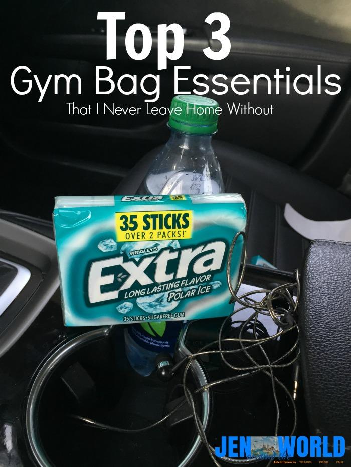 top 3 gym bag essentials