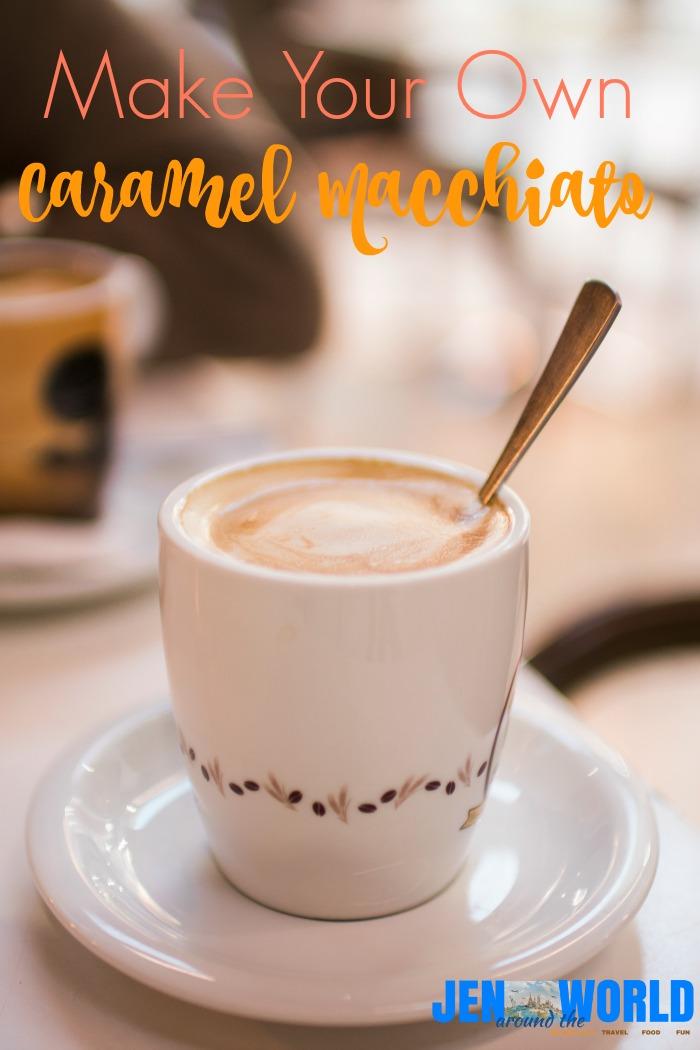 Homemade Caramel Macchiato