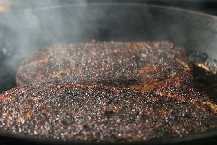Step 5 Coffee Crusted Steaks