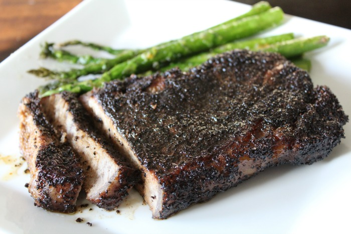 Step FEATURED Coffee Crusted Steaks
