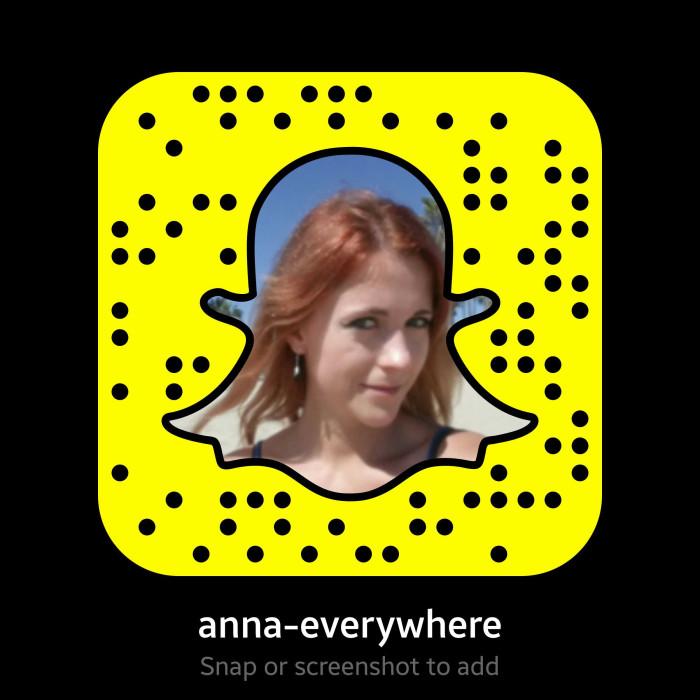 Anna everywhere snapchat