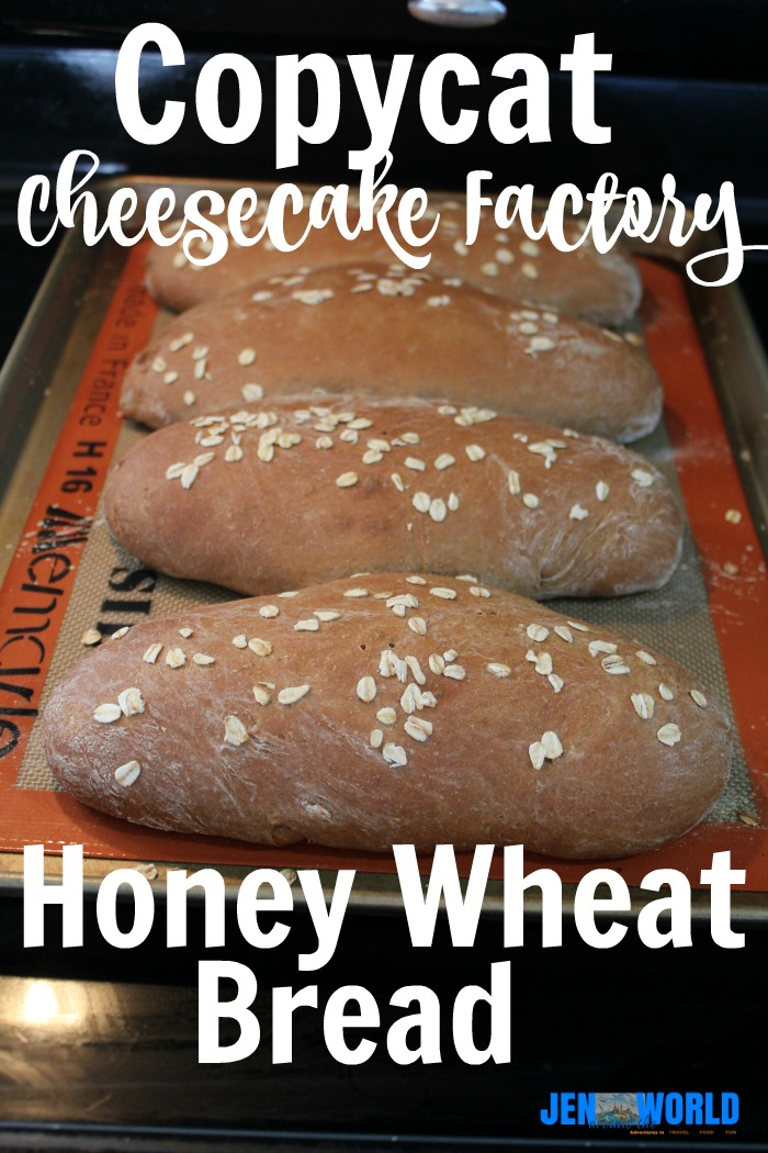 Copycat Cheesecake Factory Honey Wheat Bread 1