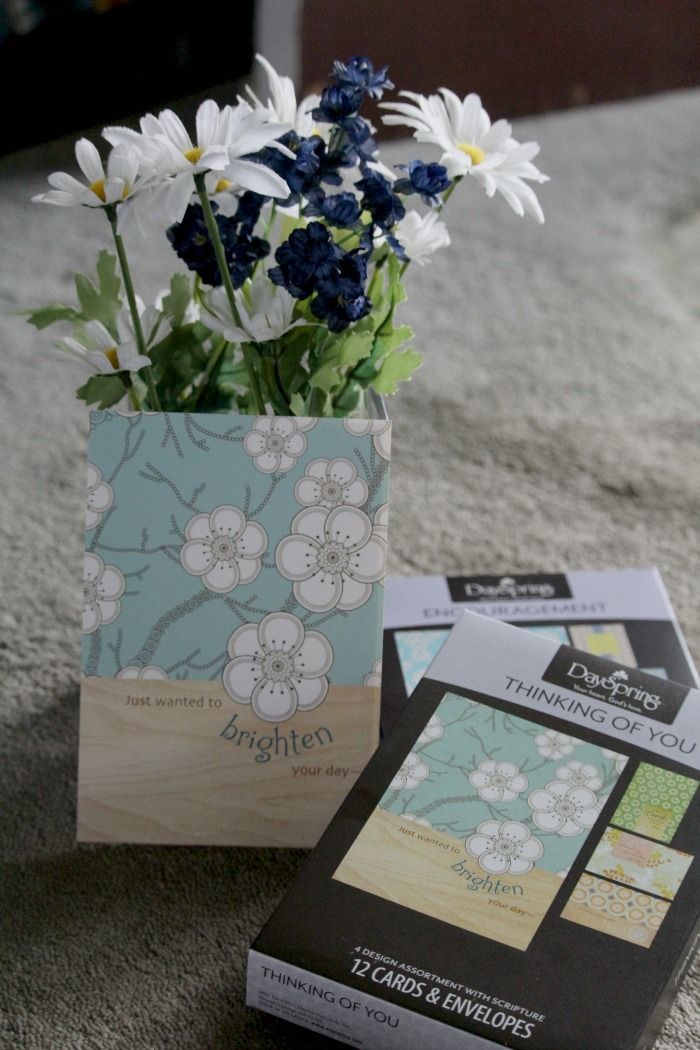 Enjoy sending someone a beautiful word of encouragement through the Dayspring 21 Days of Encouragement - cards are beautiful ways to say I am thinking of you