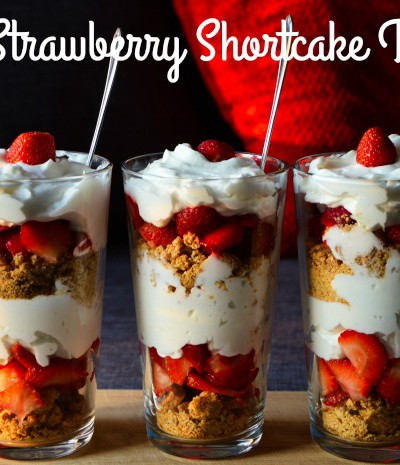 Mini Strawberry Shortcake Trifle + a Fun Macy's Event Coming Up!