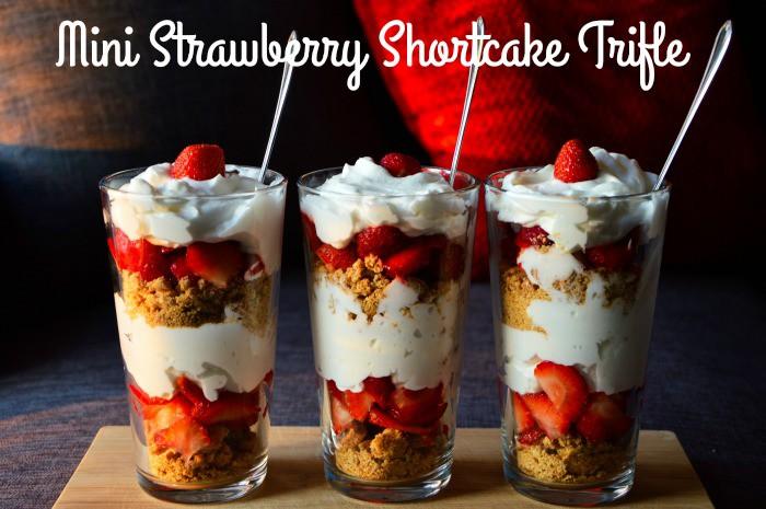 Mini Strawberry Shortcake Trifle