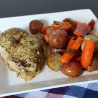Sheet Pan Dinners are the New Twist on Cooking - Here's My One Pan Roasted Chicken and Veggies Dinner