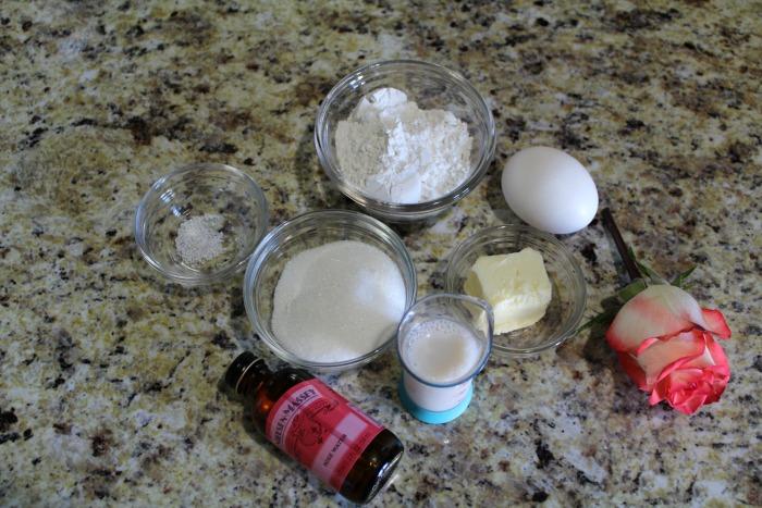 Rose Water Mug Cake 1 cake ingredients