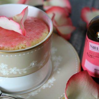 How to Make a Rose Water Mug Cake