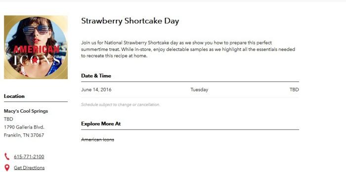 strawberry shortcake day