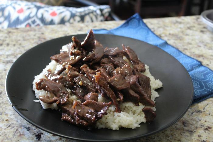 Mongolian Beef Step 6