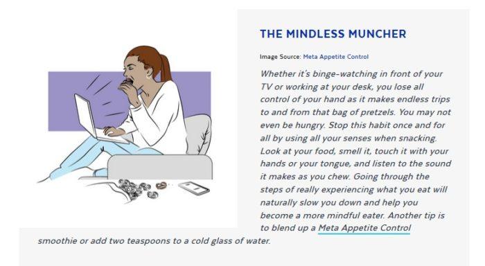 mindless muncher