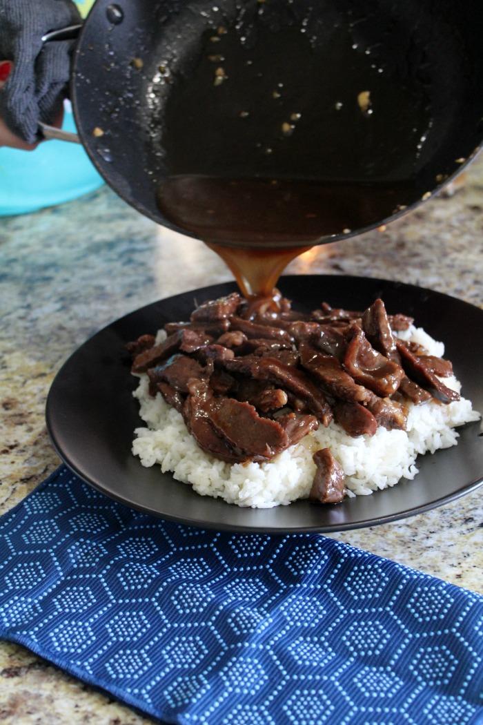mongolian beef step 7