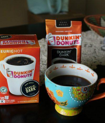 Get Bold with the New Dunkin' Dark® #BrewedfortheBold