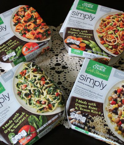The New Organic Ingredient Healthy Choice Simply Cafe Steamer Meals+ How I Get Stuff Done as a Blogger