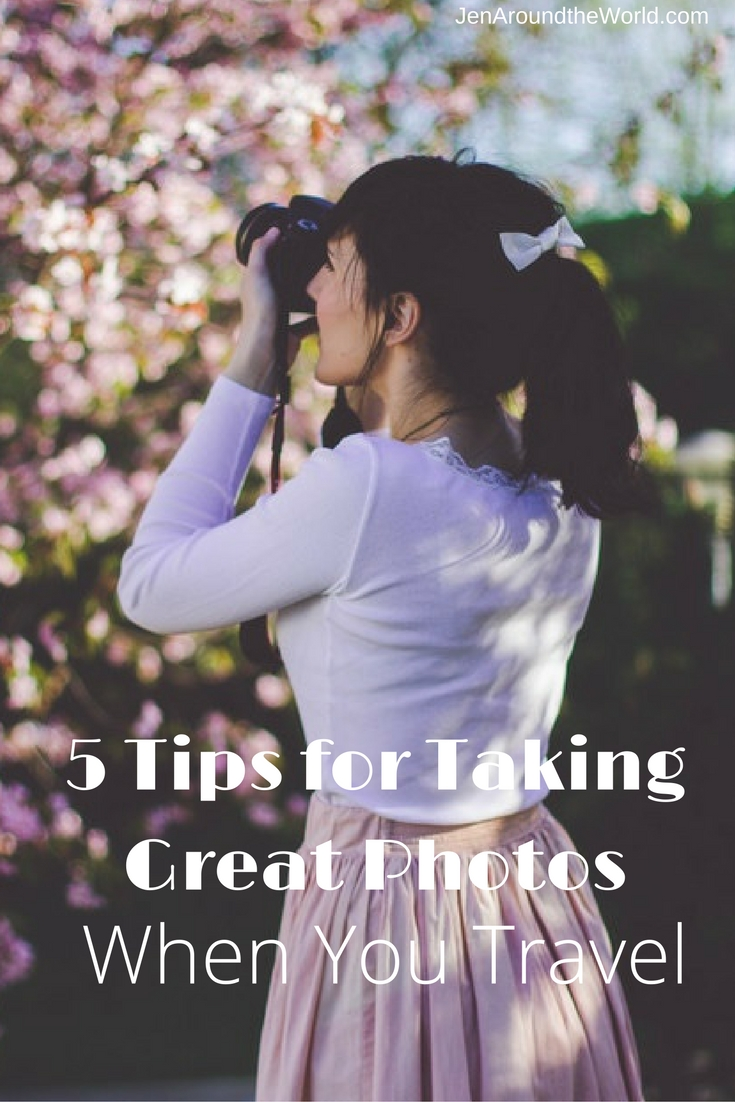 5 Tips for Taking Great Photos