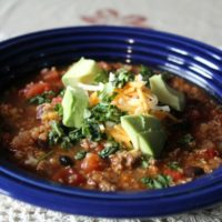 Clean Eating: Turkey and Quinoa Chili