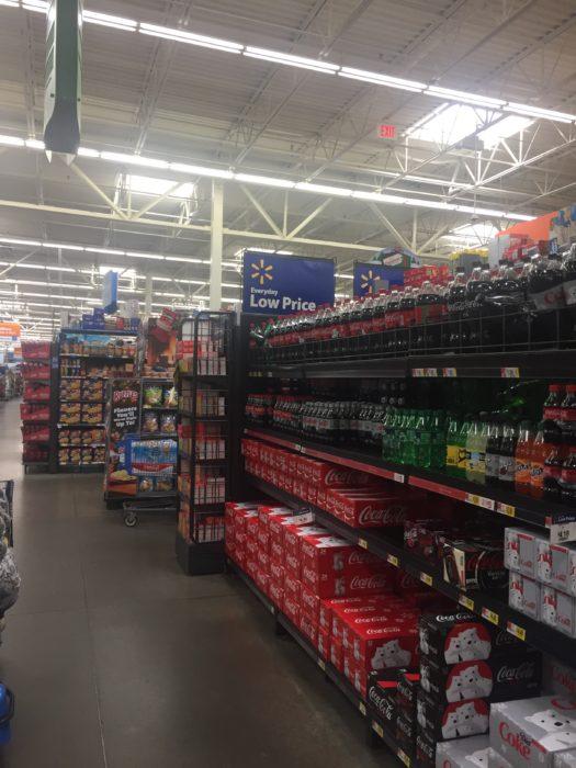 coca cola store shot