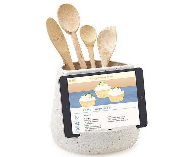 kitchen-utensil-holder-and-tablet-holder-uncommon-goods