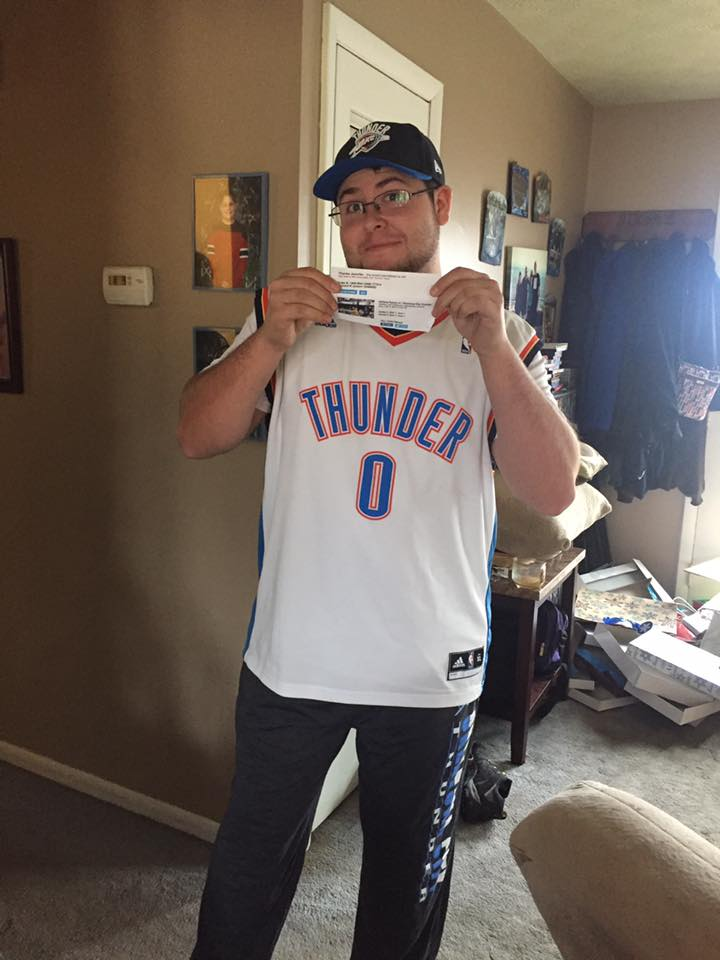 OKC Tickets for Robert