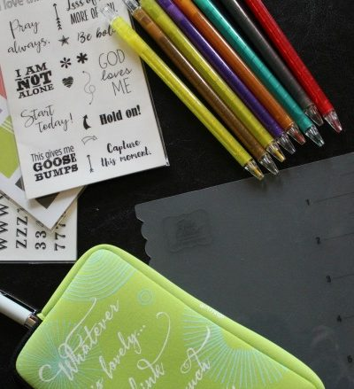Learning How to Use a Bible Journaling Kit (plus a giveaway)