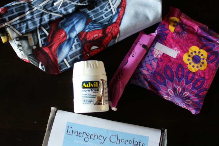 How to Make An Emergency PMS Pack for Your Teen Daughter