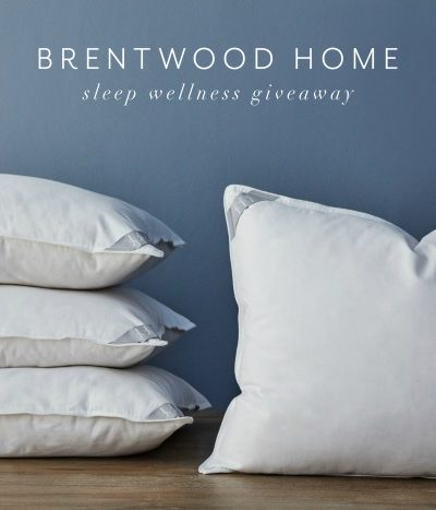 Brentwood Home Sleep Wellness Bundle Review & Giveaway