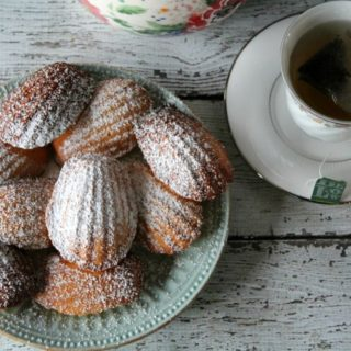 Making French Madeleines for Tea Time