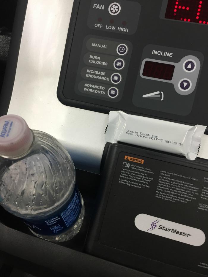 Jenny Craig at the gym