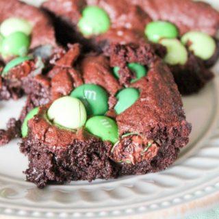 Mint M&M Brownies (10 of 11)