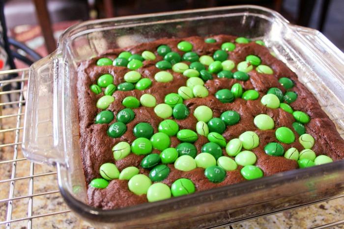 Mint M&M Brownies (5 of 11)