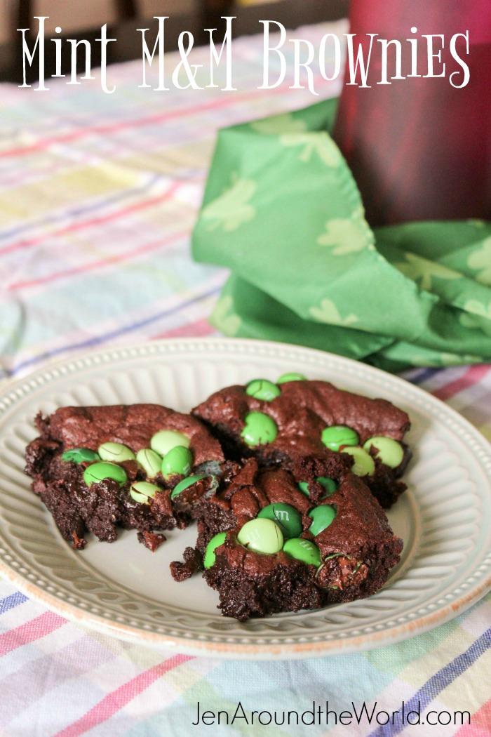 Mint M&M Brownies (6 of 11)