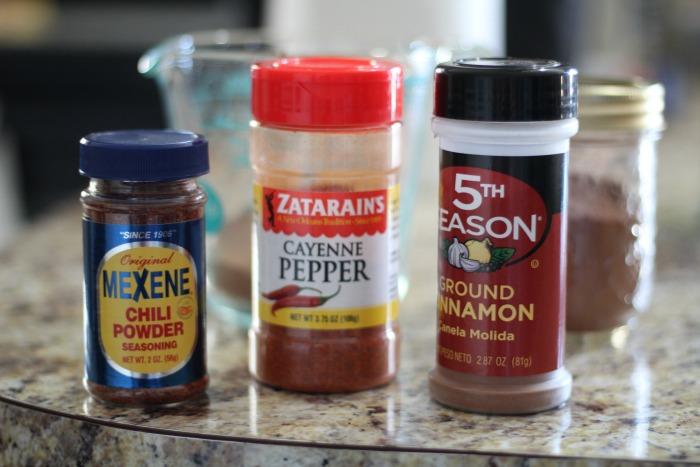 Spiced Mocha step 1