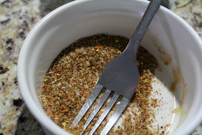 spicy garlic chickpeas step 2