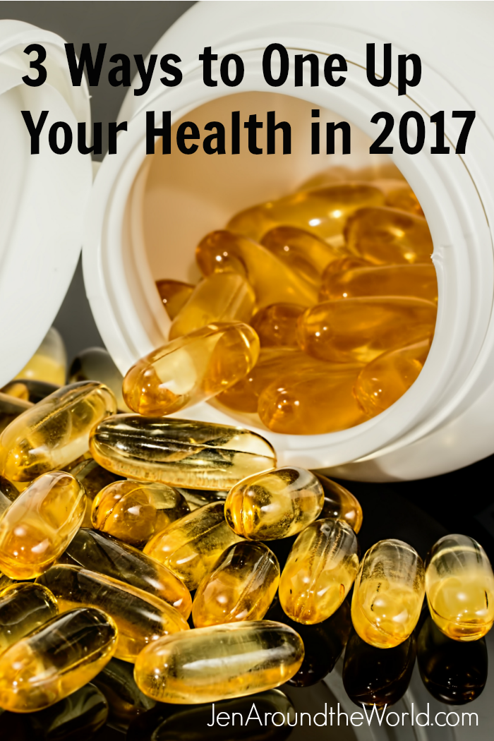 3 Ways to One Up Your Health in 2017