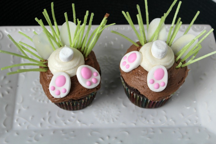 Bunny Butt Cupcakes Featured