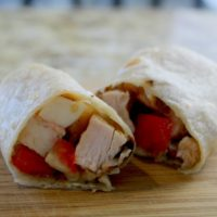 Chicken Caprese Wraps – The Perfect Lunch for Those Hectic Days