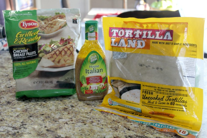 Chicken Caprese Wraps Ingredients