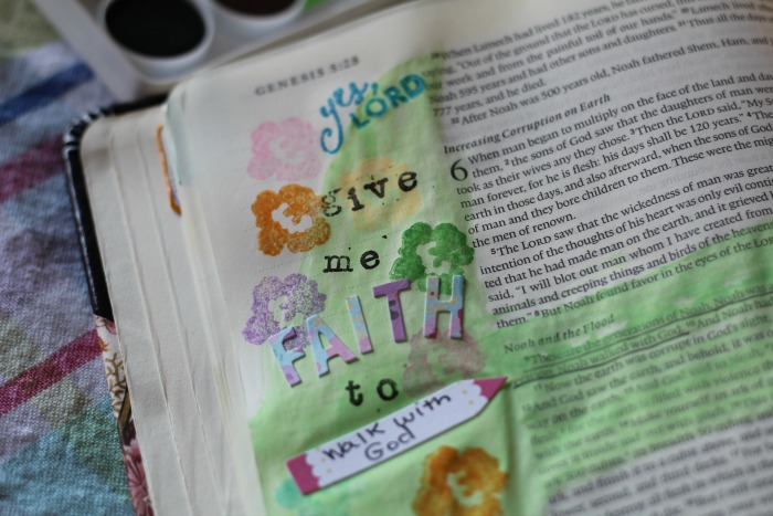 a heart that receives journal page