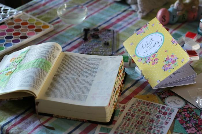 a heart that recieves journal book