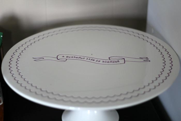dayspring cake plate