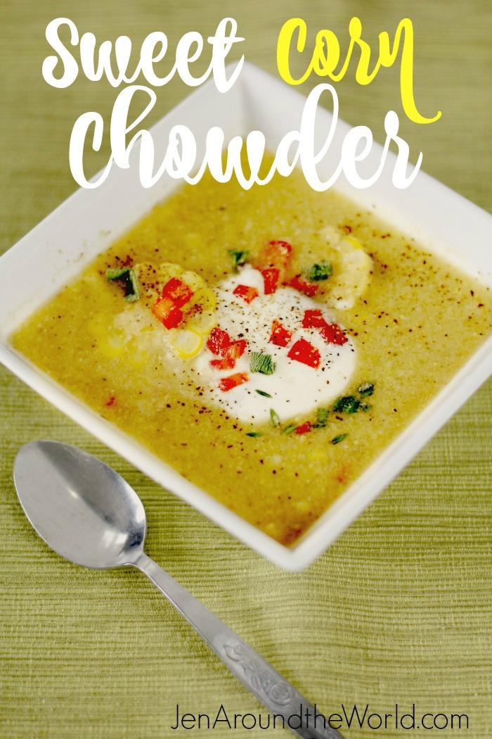 Sweet Corn Chowder hero image
