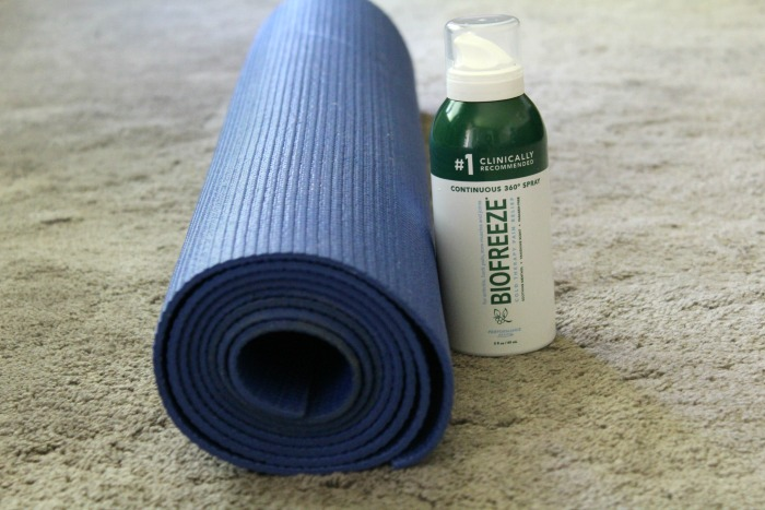 biofreeze and yoga featured