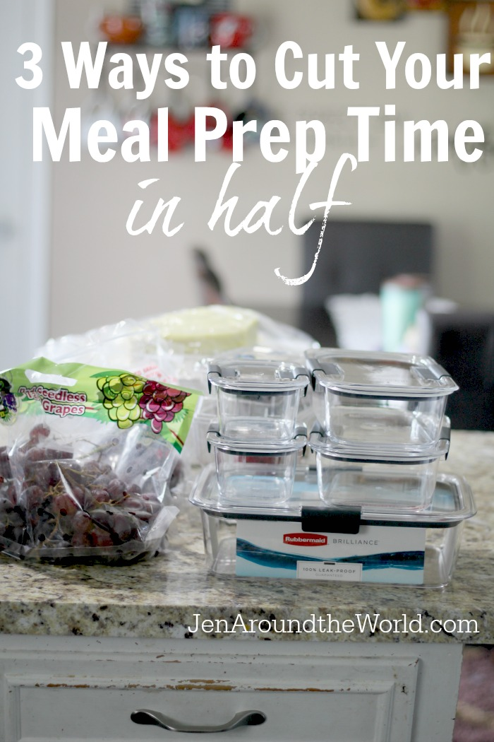 Rubbermaid BRILLIANC Meal Prep times hero