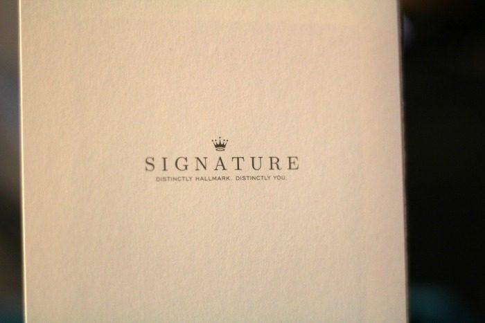 hallmark signature back