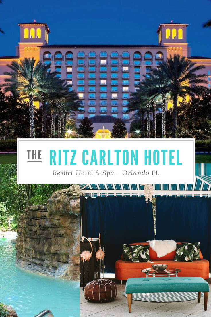 The Ritz Carlton Hotel in Orlando Florida is my #1 choice in luxury hotel brands. Here's why.