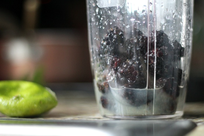 My Blackberry Mint Spritzer drink will quench your thirst!