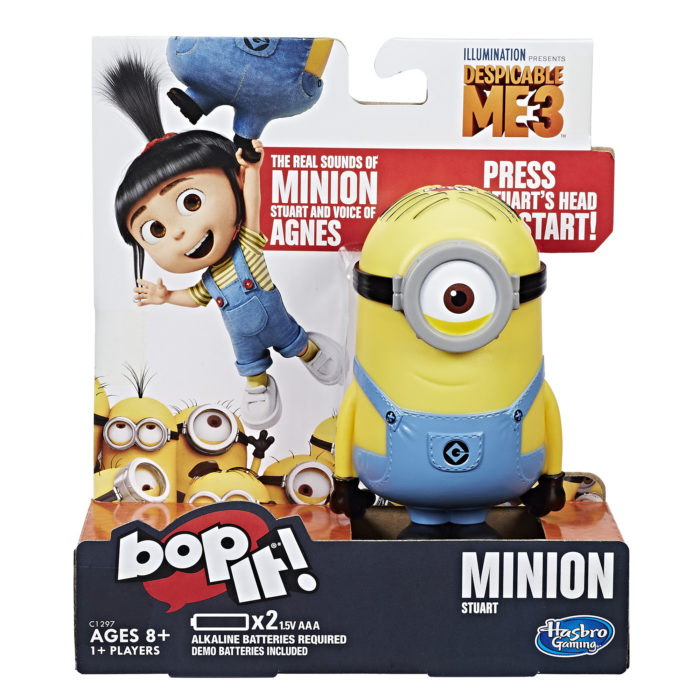 Despicable Me 3 Hasbro Games Giveaway