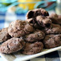 Chocolate Sugar Cookies #SummerDessertWeek